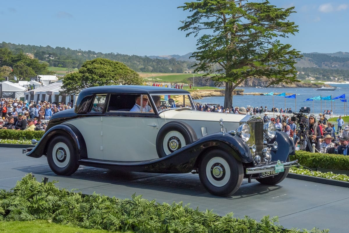 1937 Rolls Royce Phantom Iii Inskip Special Henley Coupe Shown By Lord Bamford Greg Report
