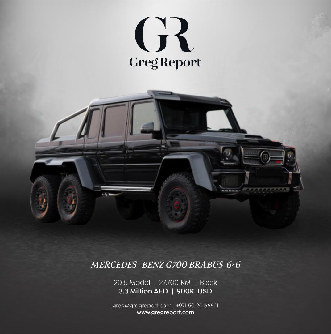 Mercedes Benz G700 Amg 6 6 Brabus Greg Report